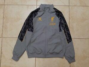 Liverpool Foootball Jacket 2013/2014 Soccer Size M Soccer Warrior England