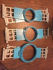 6 Barudan Embroidery Hoops (Excellent Condition)