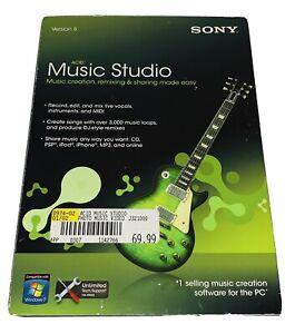SONY Creative Software ACID Music Studio 8 - Music Creation, Remixing & Sharing