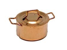 1:12 Maison de poupées miniature Copper pan-FOOD-accessoire-cuisine - Cuisine