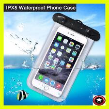 UNIVERSAL Waterproof Phone Case Under Water Dry Bag Surfing Swiming Bag !