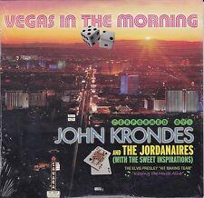 JOHN KRONDES Vegas In The Morning CD Jordanaires ELVIS PRESLEY cardboard P.Evans