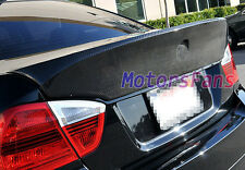 Real Carbon Fiber CSL Style Rear Spoiler For BMW 3-Series E90 4Door 05-09 B057