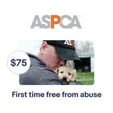 ASPCA $75 Their First Time Free From Abuse Symbolic Charitable Donation