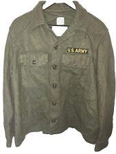 New listing U.S.army Wool Field Shirt Sz Large 1956