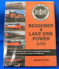 MORNING SUN BOOKS 1642 - Bessemer & Lake Erie Power In Color - HC - 128 pages