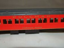 """N Scale Rivarossi Pullman """"Cardinal Hayes"""" Coach Car - Out of Cardinal Set"""