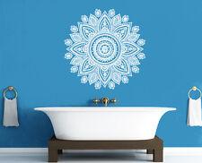 Wall Decal Vinyl Mandala Ganesh Indian Ornament Buddha Bedroom Family r1430