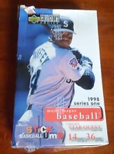 1998 Upper Deck Collector's Choice Series 1 baseball hobby box