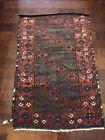 Vintage Wool Handmade Rug 4.6x3ft