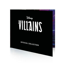 Disney Gifts Villains Limited Edition Gold Collectable Coin Collector Album
