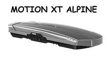 Box Tetto Portatutto THULE Motion XT ALPINE Grigio Titanio Lucido 450 Lt