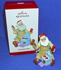 Hallmark Series Ornament Toymaker Santa #15 2014 Baking Cookies in Toy Oven NIB