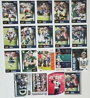 2020 Score New England Patriots Master Team Set RC Parallels Inserts 19 Card Lot