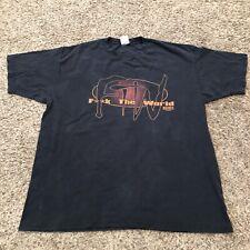 Vtg  ECW Taz FTW Shirt Black XXL WCW WWE Wwf Tazz Extreme Championship Wrestl