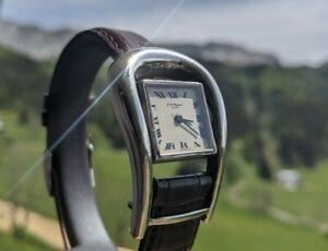 CHOPARD, Montre, watch, silver, serviced, révisée