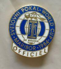 1974 MARIBOR Slovenia SKI SKIING WORLD CHAMPIONSHIPS OFFICIAL BADGE SK BRANIK