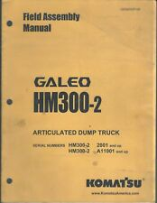 Equipment Manual - Komatsu Galeo Hm300-2 Dump Truck Field Assembly 2006 (E4281)