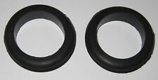 """2 X Rubber Grommet Fits 1-3/4"""" Diameter Hole and 1/8"""" Thick Panel - 2-1/8"""" OD"""