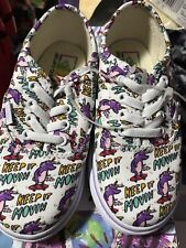 NIB Authentic VANS Shoes Dallas Clayton Skateboard Unicorn Toddler 8 9