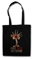 FREE HUGS FOR EVERYONE STOFFTASCHE Facehugger Prometheus Ripley Fun Alien
