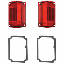 1968 1969 Chevy El Camino & Station Wagon R L Tail Light Lens & Gasket Kit