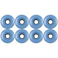 Roller Skate Quad Wheels Set of 8 62mm x 32mm Sky 88a