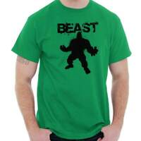 Giant Beast Bodybuilding Gym Workout Fitness Mens T-Shirts T Shirts Tees Tshirt