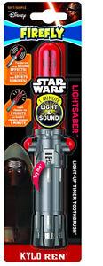 Firefly Star Wars Kylo Ren LightSaber Soft Toothbrush for Kids Age 4+