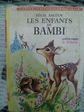 Félix Salten - Les enfants de Bambi - Idéal Bibliothèque (1959) ill Jeanne Hives