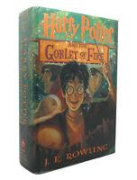 J. K. Rowling HARRY POTTER AND THE GOBLET OF FIRE  1st Edition 1st Printing