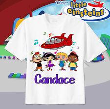 Little Einsteins Rocket Custom T-shirt Personalize tshirt Birthday gift music