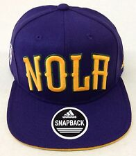9497d9e93c5 NBA New Orleans Pelicans Adidas Snap Back Cap Hat Adult Size Style  VP43Z  NEW!