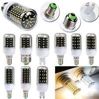 E27 E14 B22 GU10 G9  35W 18W 4014 SMD LED Corn Light Bulb Clair 220-240V Lampe
