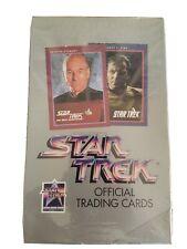 1991 Impel Star Trek 25th Anniversary Trading Cards, SEALED Box (36 Packs)
