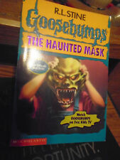 Alternate Cover GOOSEBUMPS BOOK #11 WITH HALLOWEEN MASK - THE HAUNTED MASK