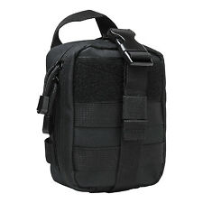 NcStar BLACK CVSEMT2988B Rip Away EMT Lite MOLLE Utility Pouch Medic Bag Aid Kit