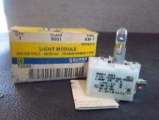 NEW SQUARE D LIGHT MODULE KM-7