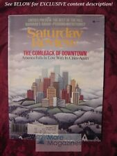 Saturday Review August 1978 THE COMEBACK OF DOWNTOWN FRED STARE JOHN HESS