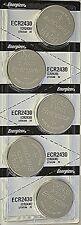10 Pcs Energizer CR 2430 CR2430 ECR2430BP 3V Lithium Coin Cell Battery