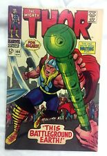 MIGHTY THOR #144 ~ 1967 Marvel Comics -Stan Lee! Jack Kirby art! Vince Colletta!