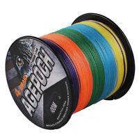 99.7m~2000m 2.7kg-136kg Multicolore Super Puissance Tressé Pêche Fil Pe Dyneema