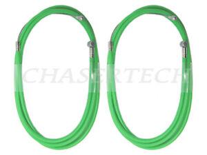 MTB Road BMX Bicycle Bike Universal Brake Cable w/ Housing Green 2 Pieces