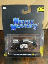 1993 FORD MUSTANG SVT CALIFORNIA HIGHWAY PATROL 1/64 MUSCLE MACHINES 15526-15543