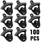 100 Rustic Cast Iron OPEN HERE Wall Mounted Beer Bottle Openers Bar Wholesale