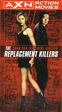 The Replacement Killers--VHS Video--Chow Yun-Fat/Mira Sorvino