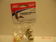 Eagle Claw Fishing Bell w/Luminous Clip, Nickel