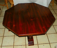 Solid Pine Octagon Coffee Table  (CT123)