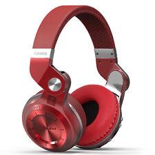 Bluedio T2 Plus Bluetooth 4.1 Kopfhörer Wireless Headset mit Mikrophon Rot