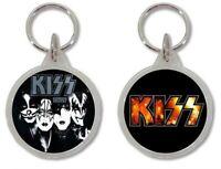 Llavero KISS HEAVY METAL, ROCK, Keyring Keychain Porte-Clés Portachiavi